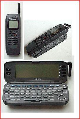 Nokia 9000 Communicator - image from Nokia's forgotten smartphones